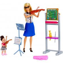 Barbie - Możesz być kim chcesz - Lalka Nauczycielka muzyki FXP18