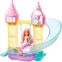 Barbie - Dreamtopia - Podwodny zamek syrenki Chelsea FXT20