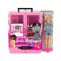 Barbie Fashonistas - Szafa na ubranka i akcesoria - GBK12