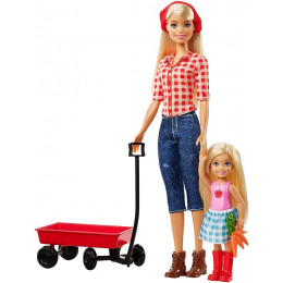 Barbie - Sweet Orchard Farm - Barbie i Chalsea na farmie - GCK84