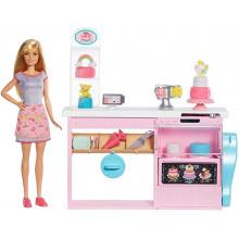 Barbie - Pracownia wypieków - Zestaw z ciastoliną GFP59