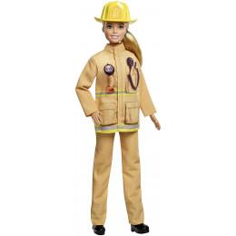 Barbie - Możesz być kim chcesz - Lalka Strażaczka GFX29