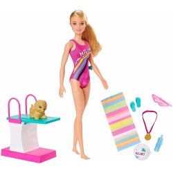 Barbie - Dreamhouse Adventures - Lalka Pływaczka - GHK23