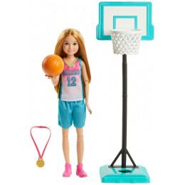 Barbie - Dreamhouse Adventures - Lalka Stacie Koszykarka - GHK35