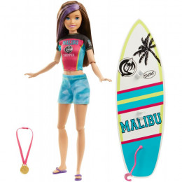 Barbie - Dreamhouse Adventures - Lalka Skipper Surferka - GHK36
