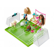Barbie - Dreamhouse Adventures - Boisko do piłki nożnej + lalka Chelsea - GHK37