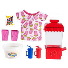 Barbie - Możesz być kim chcesz - Akcesoria z popcornem + ciastolina - GHK39