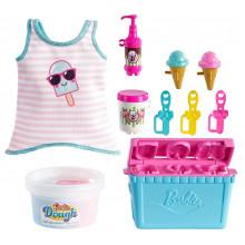 Barbie - Możesz być kim chcesz - Akcesoria z lodami + ciastolina - GHK40