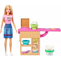 Barbie - Dreamhouse Adventures - Zestaw Domowy Makaron - GHK43