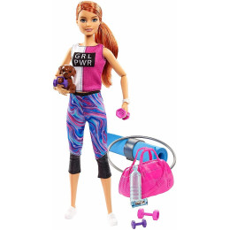Barbie - Możesz być kim chcesz - Lalka Fitness - GJG57