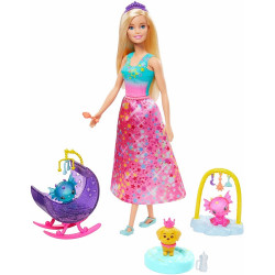 Barbie Dreamtopia - Baśniowe Przedszkole - Smoki i szczeniaczek - GJK51