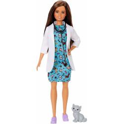 Barbie - Możesz być kim chcesz - Lalka Weterynarz - GJL63