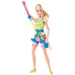 Barbie - Lalka Olimpijka - Wspinaczka GJL75