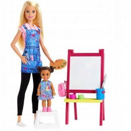 Barbie – You can be anything – Zestaw kariera lekcja plastyki – GJM29