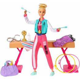 Barbie - Możesz być kim chcesz - Lalka Gimnastyczka GJM72