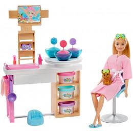 Barbie - Relaks w SPA – Zestaw z maseczkami – GJR84