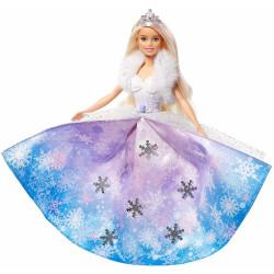 Barbie Dreamtopia - Lalka Księżniczka - Lodowa Magia - GKH26
