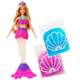 Barbie Dreamtopia - Lalka syrena - Brokatowy slime - GKT75