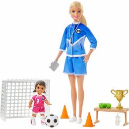 Barbie - Możesz być kim chcesz - Trenerka piłki nożnej - GLM47