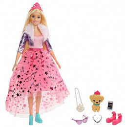 Barbie Princess Adventure – Lalka z akcesoriami – Barbie – GML76