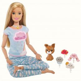 Barbie - Możesz być kim chcesz - Medytująca lalka + światła i dźwięki - GNK01