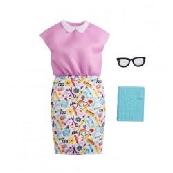 Barbie – Ubranka dla Barbie – Strój nauczycielki – GWC27 GRC54