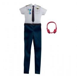 Barbie – Ubranka dla Barbie – Strój pilota samolotu – GRC55