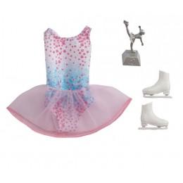 Barbie – Ubranka dla Barbie – Strój łyżwiarki figurowej – GWC27 GRC56