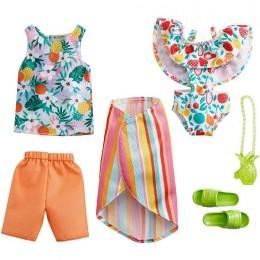 Barbie – Ubranka dla Barbie i Kena – Tropikalne owoce – GWC33 GRC96