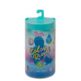 Barbie Color Reveal Chelsea - Kolorowa niespodzianka w tubie - Chelsea Syrenka - GTP53