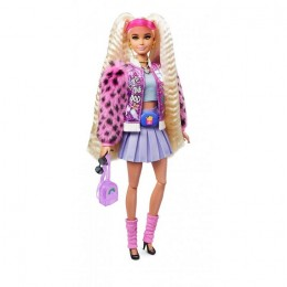 Barbie Extra – Lalka Barbie z misiem – GRN27 GYJ77