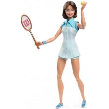 Barbie – Inspirujące Kobiety – Lalka kolekcjonerska Billie Jean King GHT85
