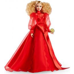 Barbie – Lalka kolekcjonerska – Barbie w czerwonej sukni - GMM98