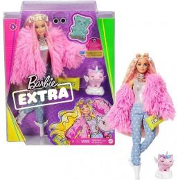 Barbie Extra – Lalka Barbie z figurką świnki GRN28