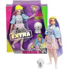 Barbie Extra – Lalka Barbie z figurką pieska GVR05