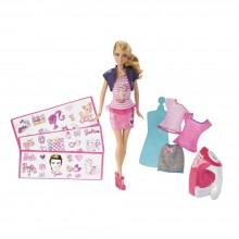Barbie Projektowanie ubrań