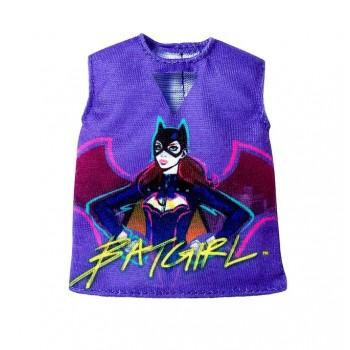 Barbie – Ubranka dla Barbie – Bluzka Batgirl – FLP40 FXJ83