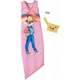 Barbie – Ubranka dla Barbie – Sukienka Looney Tunes Lola Bunny – FKR66 FXK70