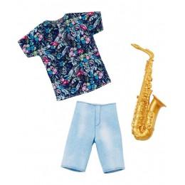 Barbie – Ubranka dla Kena – Komplet saksofonisty  – FXJ49 GHX43