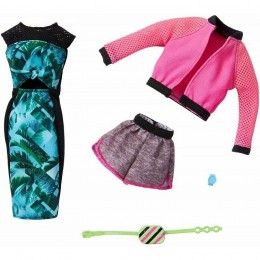Barbie – Ubranka dla Barbie – Zestaw sportowych strojów – FKT27 GHX63