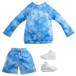 Barbie – Ubranka dla Kena – niebieski dres – GWC31 GRC72