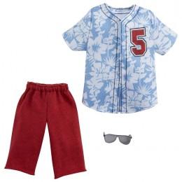Barbie – Ubranka dla Kena – Koszula w hawajskie kwiaty – GWC31 GRC75