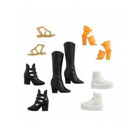 Barbie – Modne buty dla lalki – zestaw 5 par – GXG01