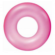 Bestway - Dmuchane koło do pływania 76 cm - różowe - 36024