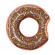 Bestway - Koło do pływania - Nadgryziony donut - brązowy 107cm - 36118