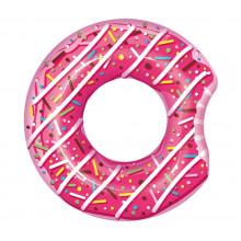 Bestway - Koło do pływania - Nadgryziony donut - różowy 107cm - 36118