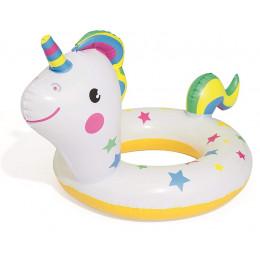 Bestway - Dmuchane koło do pływania dla dzieci - Jednorożec - 36128