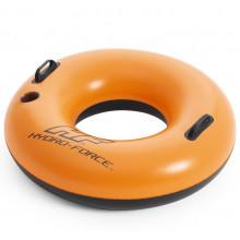 Bestway - Dmuchane koło do pływania Hydro-Force – pomarańczowe – 36173