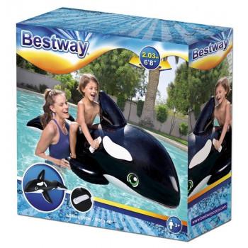 Bestway - Dmuchana orka do pływania - 203 x 102 cm 41009