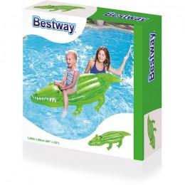 BESTWAY 41010 Dmuchany Krokodyl z uchwytem